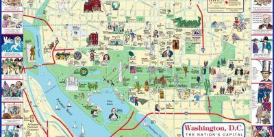 Washington Dc Karte.Washington Dc Dc Karte Karten Washington Dc Dc District Of
